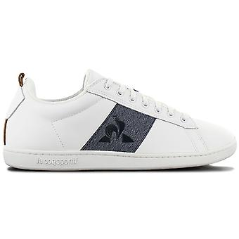 Le Coq Sportif Courtstar Craft Strap Denim - Men's Shoes White 1921885 Sneakers Sports Shoes