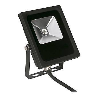 LED 1 Light Flood Light Outdoor Spotlight Black IP65