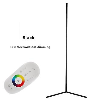Lámpara de pie esquina Rgb nórdica moderna y simple barra led para el hogar