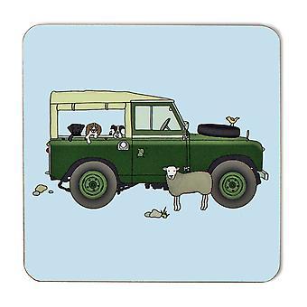 Emma Lawrence Green Farm Vehicle Coaster
