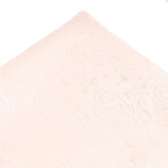 Ties Planet Blush Pink Paisley Pattern Pocket Square Handkerchief