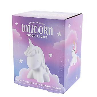 Farbe verändert Unicorn-Mood Licht