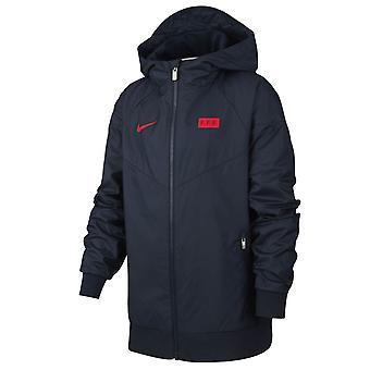 2020-2021 France Nike Authentic Windrunner (Navy) - Kids