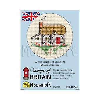Cottage Images of Britain Mini Counted Cross Stitch Kit