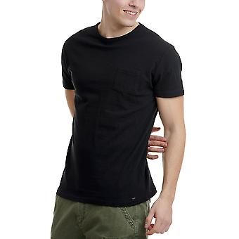 Funky Buddha Men's T-Shirt In Plain Pattern