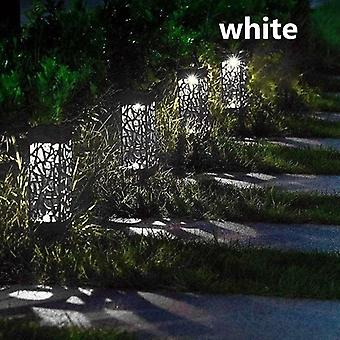 Solar Lawn Light Decoration Garden Hollow Lawn Lampa - Wodoodporny Ogród Solar Led Light