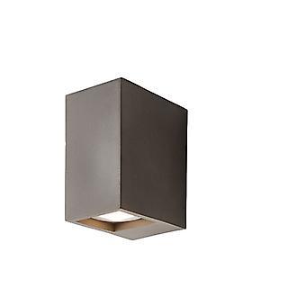 Integrierte LED Wand Grau Smooth Cement 2 Light IP20