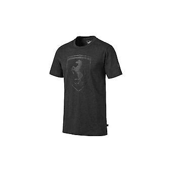 Puma Ferrari Big Shield Tee 59540803 universal all year men t-shirt