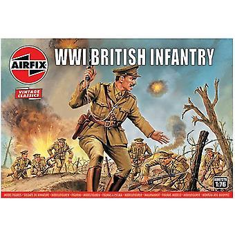 Conjunto de Infantaria Britânica Airfix Wwi