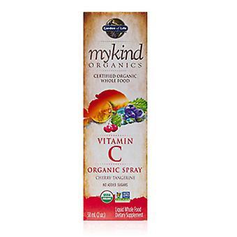 Garden of Life Vitamin C Organic Spray, Cherry-Tangerine 2 fl oz