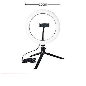 Led Selfie Ring Light- 24w Studio Fotografia Foto Riempimento Anello Luce, con