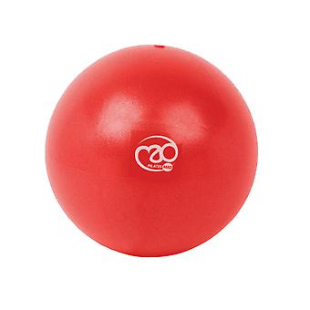 "Fitness Mad 9"" exer-soft ball - rotes Yoga und Pilates über Ball"
