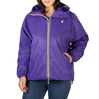 K-way - k009nw0 - women's zip fastening bomber jacket
