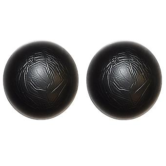 Circle Shaped, Silicone Nipple Covers - Black