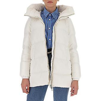 Aggiungi 2aw3301132 Women's White Nylon Down Jacket
