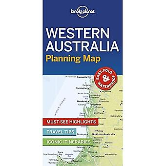 Lonely Planet Western Australia Planning Map (Kaart)