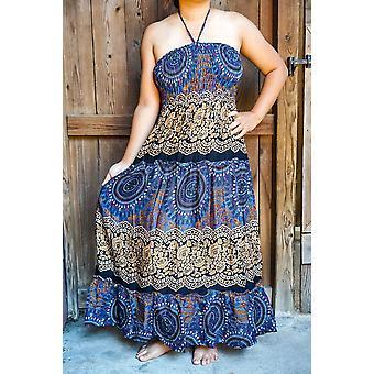 Boho Maxi kjole