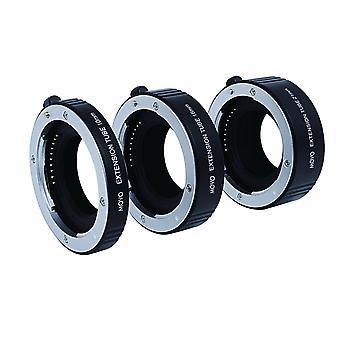 Movo foto af macro extensie buis set voor Sony e-mount (nex) spiegelloze camera systeem met 10mm, 16