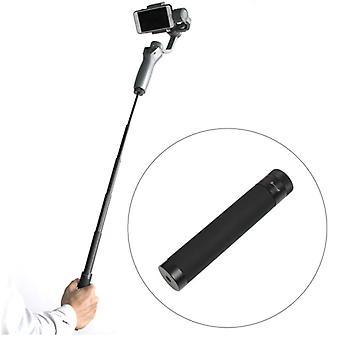 Extension Rod Selfie Monopod Stick Holder for DJI OSMO Mobile 2, Length: 14.8-66cm(Black)