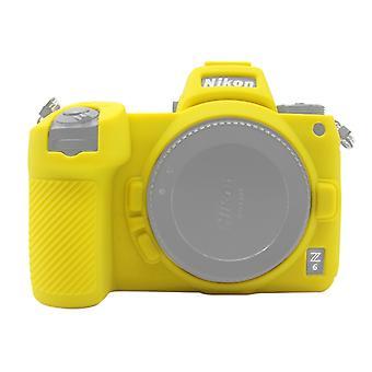 Puluz Miękki silikonowy futerał ochronny do Nikon Z6 / Z7 (żółty)