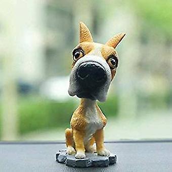 Car Dashboard Shaking Dog