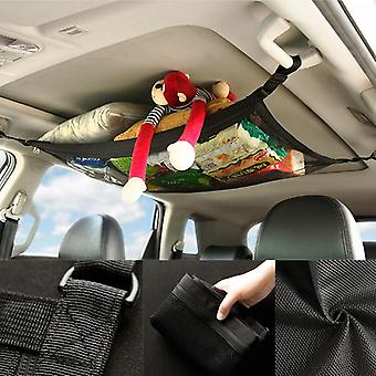 Car Net Pocket, Storage Ceiling Roof Cargo Net In The Trunk