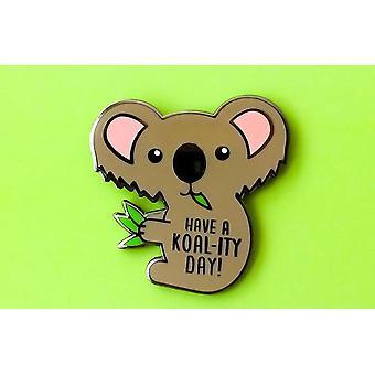 Broche en émail Koala