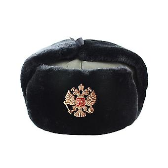 Russian Army Military Pilot Police Hats, Winter Men Snow Skiing Cap