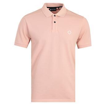 MA.Strum Icon Short Sleeve Polo Shirt - Flesh