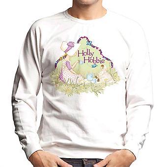 Holly Hobbie Tea Party Men's Sweatshirt