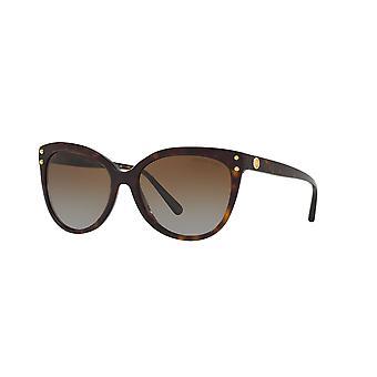 Michael Kors Jan MK2045 3006/T5 Dark Tortoise/Brown Polarised Gradient Sunglasses