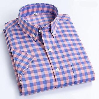 Kesä lyhythihainen ruudullinen paita