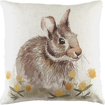 Evans Lichfield Woodland Hare Cushion Cover