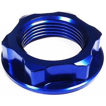 GP Pro Blue Steering Stem Nut - M24 x 32 x P1.5 x H10