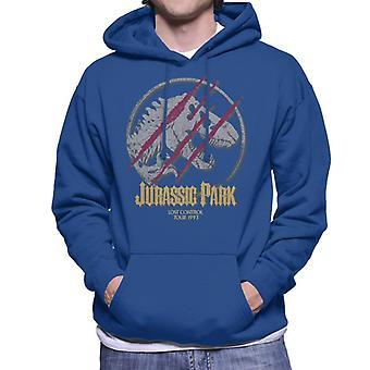 Jurassic Park III verloren Kontrolle Männer's Kapuzen Sweatshirt