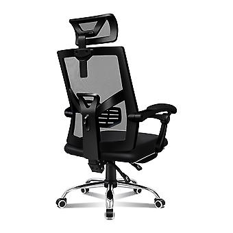 ELFORDSON Mesh Office Chair Gaming Executive Fabric Seat Racing Footrest Recline
