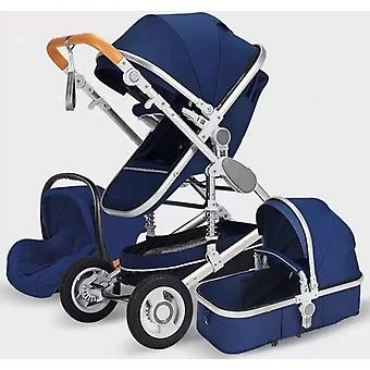Baby Stroller Luxury Travel Pram Carriage Basket Car Seat Cart