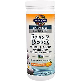 Garden of Life Dr. Formulated Magnesium Relax & Restore Orange Dreamsicle 196 gr
