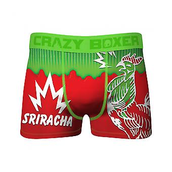 Crazy Boxers Sriracha Rooster and Fire Boxer Briefs