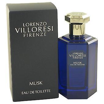 Lorenzo Villoresi Firenze Musk Eau De Toilette Spray (Unisex) By Lorenzo Villoresi 3.3 oz Eau De Toilette Spray