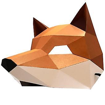 3d Face Masks Paper Mask