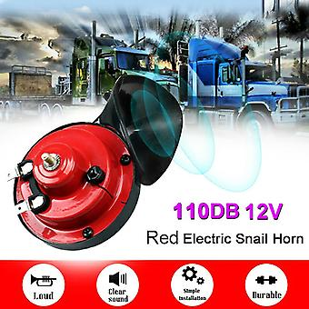 12v 110db Motorcycles Electric Vehicle Snail Loud Horn Motorbike Accessory