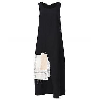 Crea Concept Sleeveless Linen Midi Dress