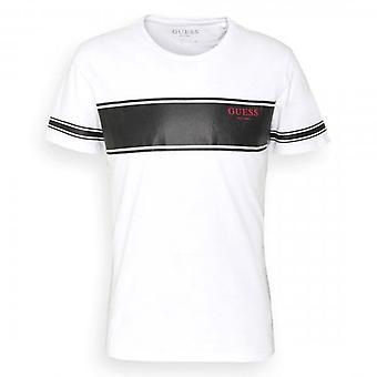 Arvaa Paneeli Logo Crew Neck Valkoinen T-paita M1RI56K8HM0