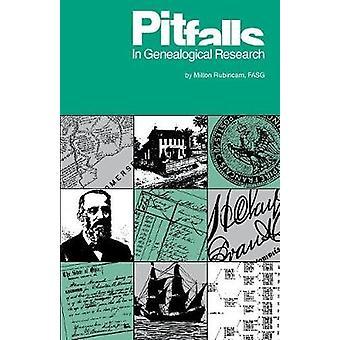 Pitfalls in Genealogical Research by Milton Rubincam - 9780916489281