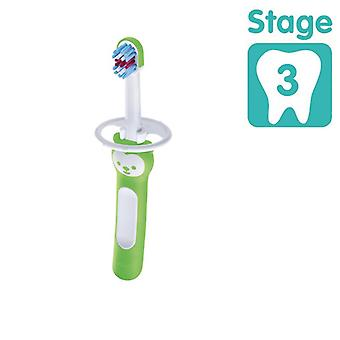 Mam baby brush with safety shield green