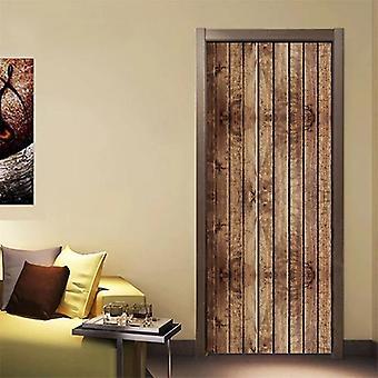Door Stickers Rooms - 3d Waterproof Home Decore Wallpaper