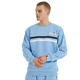 Ellesse Bellucci 2359 Stripe Sweat Top - Bleu clair