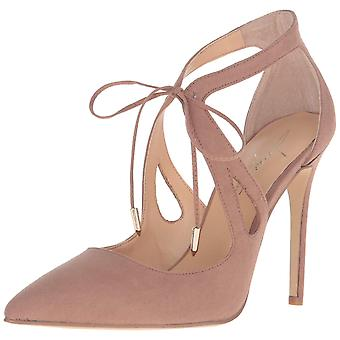 Daya by Zendaya Womens Aaron Pointed Toe Ankle Strap D-orsay Pumps