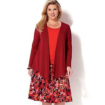Kwik Sew Sewing Pattern 4199 Womens Draped Jacket Tank Top Skirt Size 1X-4X UC